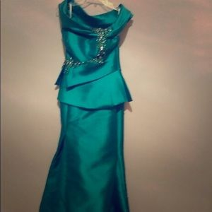 Prom evening Dress gown